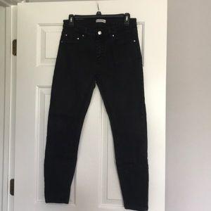 Zara Black Stretch Jeans